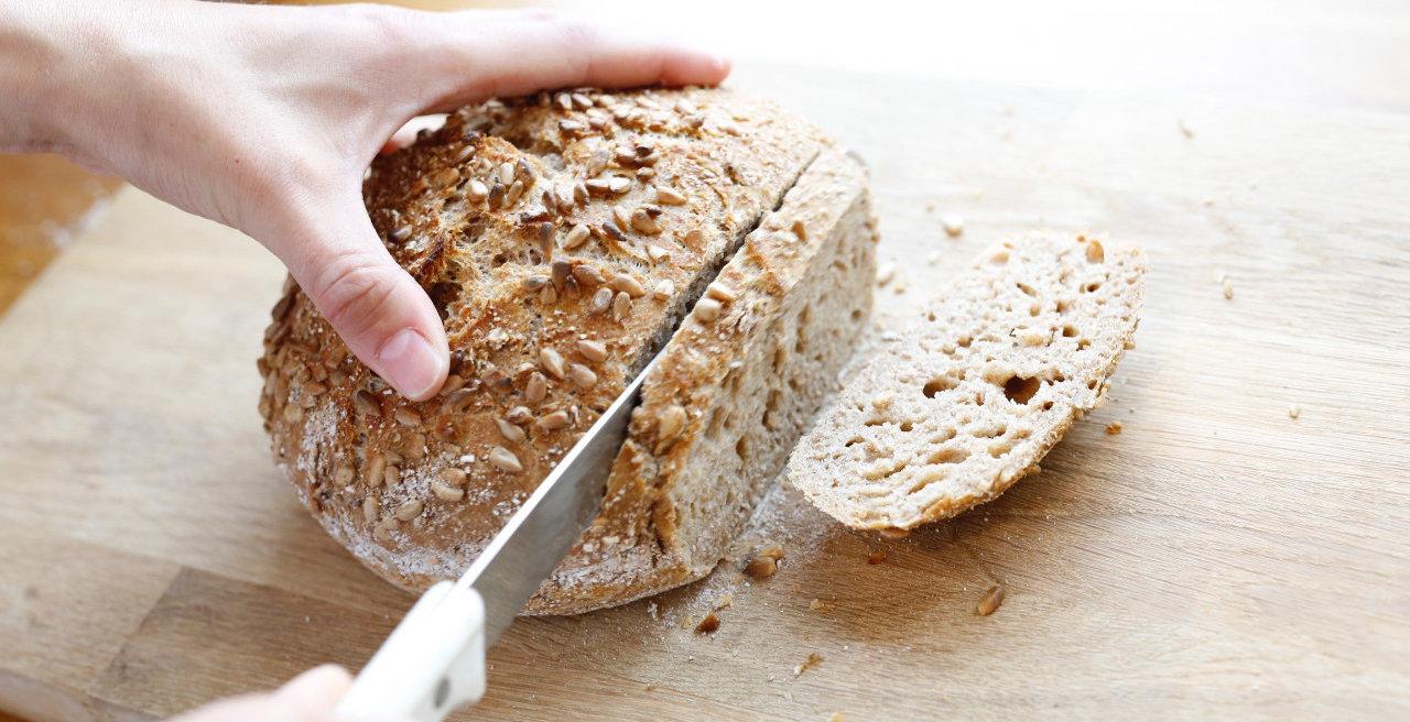 Eltefritt grytebrød er verdens beste og enkleste brød.