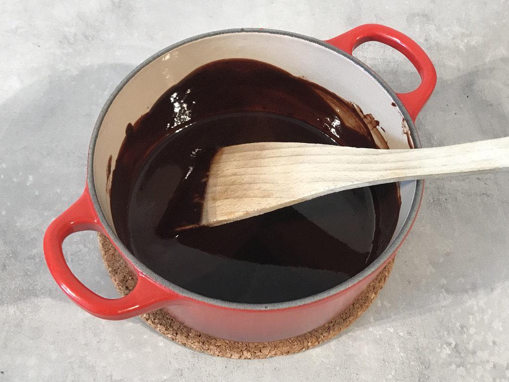 Ferdig sjokoladefyll