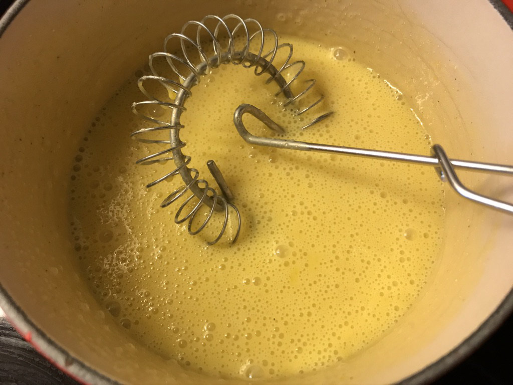 Gul krem før margarin