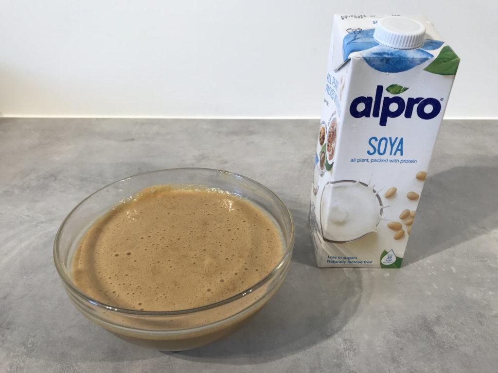 ferdig kondensert soyamelk