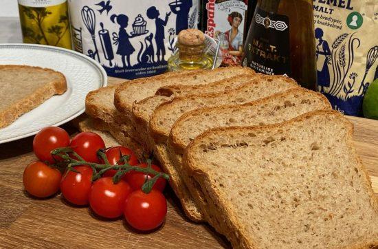 Melkefritt brød