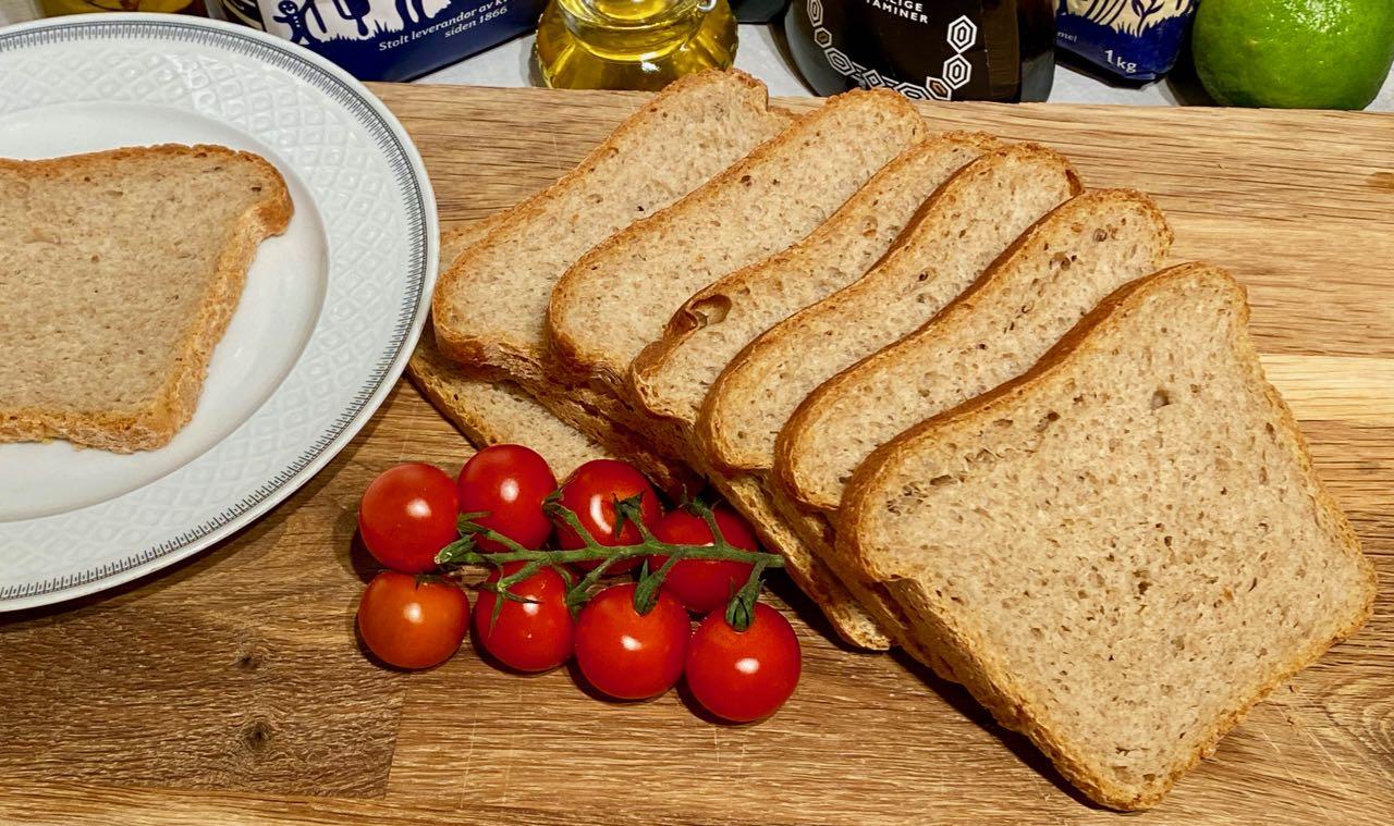 Saftig brød uten melk
